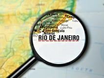 Destination Rio de Janiero Stock Image