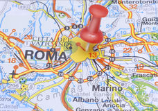 destination rome Arkivbild
