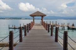 Destination Sabah, Malaisie, MER de voyage images stock