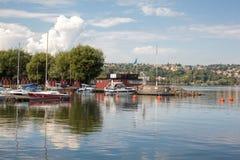 Destination scene of the Jonkoping city, Sweden Royalty Free Stock Photos