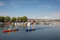 Destination scene of the Jonkoping city, Sweden Royalty Free Stock Photo