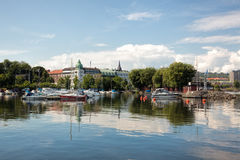 Destination scene of the Jonkoping city, Sweden Royalty Free Stock Images
