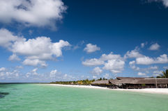 Destination scenic of port Cayo Blanco, Cuba Stock Photo
