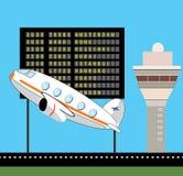 Destination schedule. Airport destination schedule vector design vector illustration