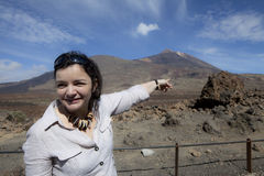 Destination-Teide Royalty Free Stock Images