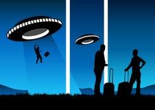 destination unknown διανυσματική απεικόνιση