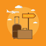 Destination - vacation Royalty Free Stock Photos