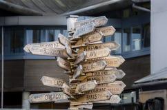 Destinations capitales Photo libre de droits