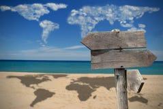 Destinations de voyage image libre de droits
