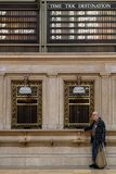 Destinations in Grand Central Terminal. NEW YORK CITY, USA, September 10, 2017 : Grand Central Terminal also referred to simply as Grand Central or incorrectly Stock Photos