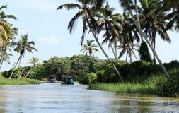 Destinations naturelles du sud de visite de l'Inde image libre de droits