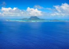 Destinazione Bora Bora Fotografia Stock Libera da Diritti