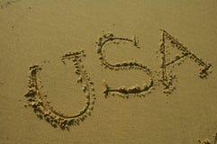 Destinazione: Gli S.U.A. Immagini Stock Libere da Diritti