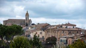 Destinazione Italia: Montalcino Immagine Stock