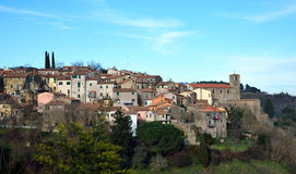 Destinazione Italia, Scansano in Toscana Fotografie Stock Libere da Diritti