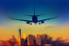 Destinazione New York Fotografie Stock Libere da Diritti