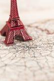 Destinazione Parigi di viaggio Fotografia Stock Libera da Diritti