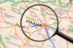 Destinazione Praga Fotografie Stock Libere da Diritti