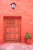 Destinazione turistica, Arequipa - Perù. Fotografia Stock Libera da Diritti