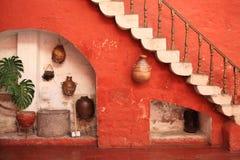 Destinazione turistica, Arequipa - Perù. Immagine Stock