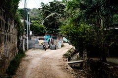 Destinazione turistica vivente rurale America Centrale San Juan Del Sur del Nicaragua Shack Fotografia Stock
