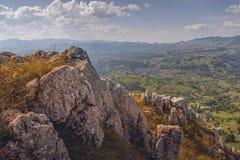 Destinazioni rumene pittoresche di viaggio Fotografia Stock