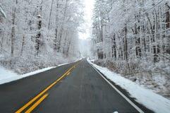 Destino da neve landscape Imagem de Stock Royalty Free