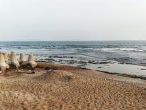 Destino da praia imagem de stock