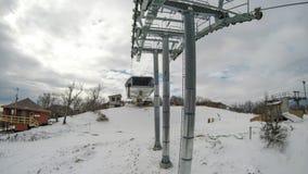 Destino do recurso de esqui da montanha do açúcar de North Carolina fotos de stock