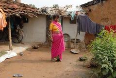 Destino dos povos de Khajuraho Fotografia de Stock Royalty Free