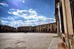Destino español, Medinaceli, ciudad histórica imágenes de archivo libres de regalías