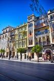 Destino español, Sevilla Foto de archivo libre de regalías