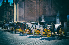 Destino español, Sevilla Imágenes de archivo libres de regalías