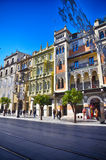 Destino espanhol, Sevilha Foto de Stock Royalty Free