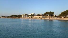 Destino famoso do verão Majorca, Playa de Muro vídeos de arquivo