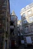 Destino francés, Saint Malo Fotografía de archivo libre de regalías