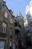 Destino francés, Saint Malo Fotografía de archivo