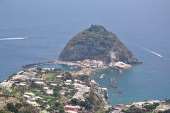 Destino hermoso Italia de la isla de los isquiones Fotos de archivo libres de regalías
