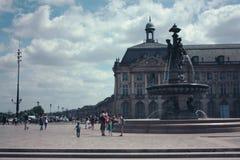 Destino turístico - Burdeos imágenes de archivo libres de regalías