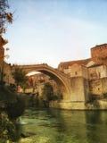 destinos do curso em Bósnia Imagem de Stock