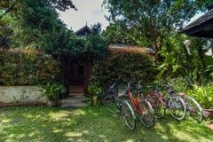 Destinos tradicionales del viaje del centro turístico y de la naturaleza del thail Imagen de archivo