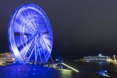 Destinos y conceptos del viaje Helsinki Skywheel Fotografía de archivo