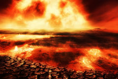 Destiny of the Earth Stock Photography