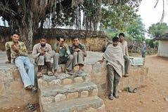 Destiny of The Khajuraho People. May 11,2012 Dhoguba,Khajuraho,Madhya Pradesh,India,Asia- People at the Khajuraho village. Khajuraho- In spite of its global Royalty Free Stock Photo
