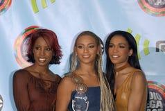 Destiny's Child. Pop group DESTINY'S CHILD at the 2001 Radio Music Awards at the Aladdin Hotel & Casino, Las Vegas. 26OCT2001.  Paul Smith/Featureflash Royalty Free Stock Photo