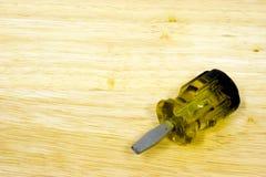 Destornillador Imagen de archivo libre de regalías