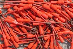 Destornilladores rojos Imagenes de archivo