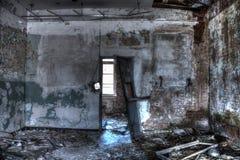 Destoyed room Stock Photo