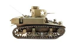 Destra di modello di vista di M3 Stuart fotografia stock