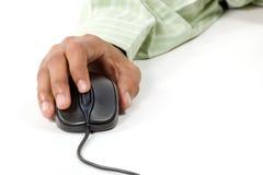 Destra - scatti sopra il mouse del calcolatore Immagine Stock Libera da Diritti